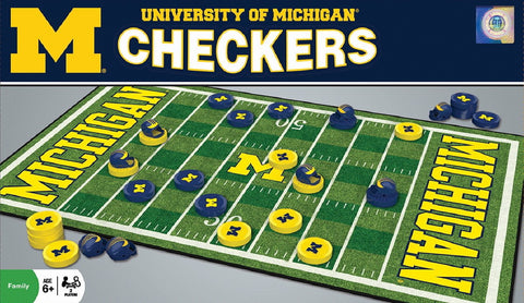 NCAA Checkers Game - University of Michigan