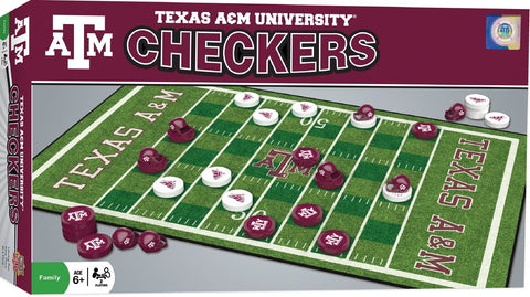 NCAA Checkers Game - Texas A&M University