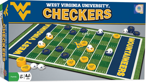 NCAA Checkers Game - West Virginia University