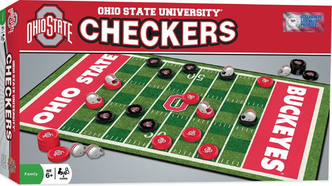 NCAA Checkers Game - Ohio State University