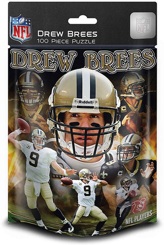 NFL New Orleans Saints - Drew Brees - 100 Piece Jigsaw Puzzle