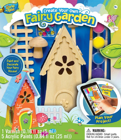 Fairy Garden - Wood Painting Kit