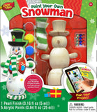 Snowman - Wood Painting Kit