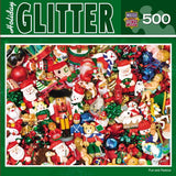 Holiday Glitter - Fun and Festive - 500 Piece Jigsaw Puzzle