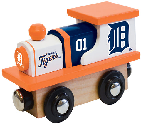 MLB Detroit Tigers - Wood Train