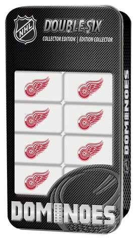 NHL Dominoes Game - Detroit Redwings