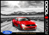 2015 Ford Mustang GT - Fifty Years of Power - 1000 Piece Jigsaw Puzzle - Games2Puzzles