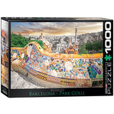 Barcelona Park Guell - 1000 Piece Jigsaw Puzzle - Games2Puzzles