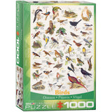 Birds - 1000 Piece Jigsaw Puzzle - Games2Puzzles