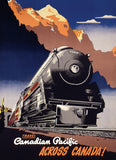 Canadian Pacific - Travel CP Across Canada - 1000 Piece Jigsaw Puzzle - Games2Puzzles