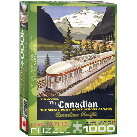 The Canadian Pacific - 1000 Piece Jigsaw Puzzle