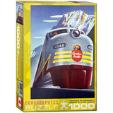Canadian Pacific - Diesel 4040 - 1000 Piece Jigsaw Puzzle - Games2Puzzles