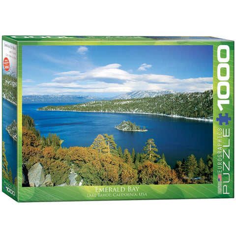 Emerald Bay - Lake Tahoe California - 1000 Piece Jigsaw Puzzle