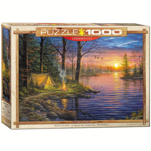 Evening Mist - 1000 Piece Jigsaw Puzzle