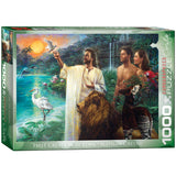 First Creation in Eden - 1000 Piece Jigsaw Puzzle