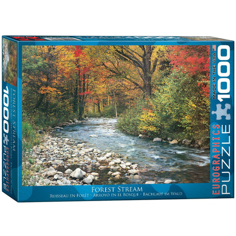 Forest Stream - 1000 Piece Jigsaw Puzzle