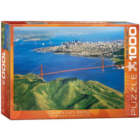 Golden Gate Bridge - 1000 Piece Jigsaw Puzzle