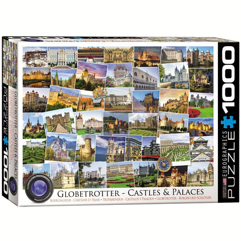 Globetrotter - Castles & Palaces - 1000 Piece Jigsaw Puzzle