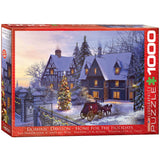 Home for the Holidays - 1000 Piece Jigsaw Puzzle