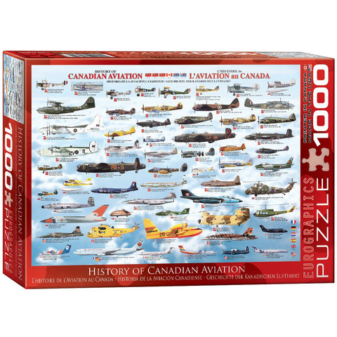 History of Canadian Aviation - 1000 Piece Jigsaw Puzzle