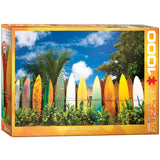 Surfer's Paradise - Hawaii USA - 1000 Piece Jigsaw Puzzle