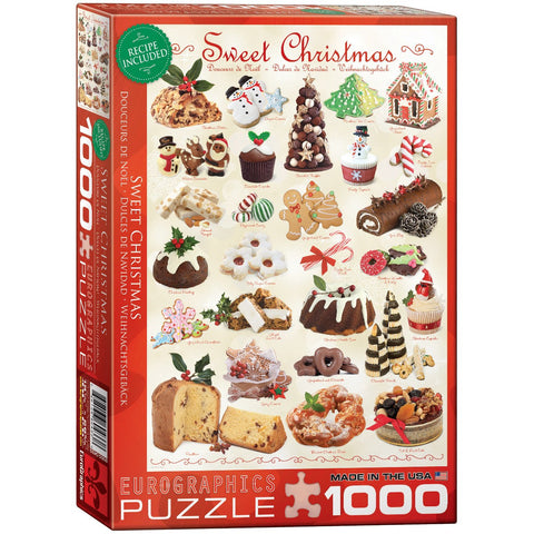 Sweet Christmas - 1000 Piece Jigsaw Puzzle