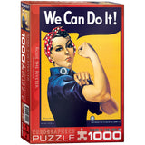 Rosie - We Can Do It - 1000 Piece Jigsaw Puzzle