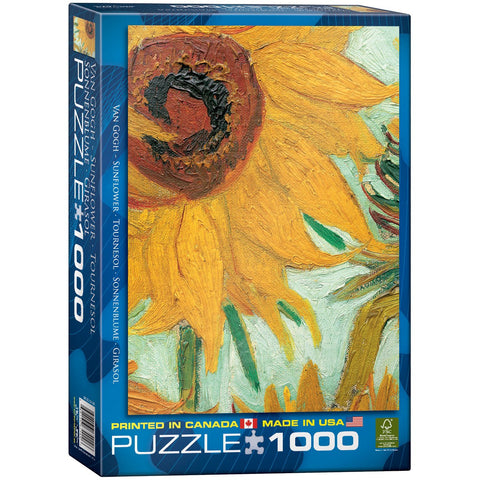Sunflower - Van Gogh - 1000 Piece Jigsaw Puzzle