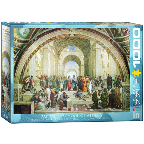 Raphael - School of Athens - 1000 Piece Jigsaw Puzzle