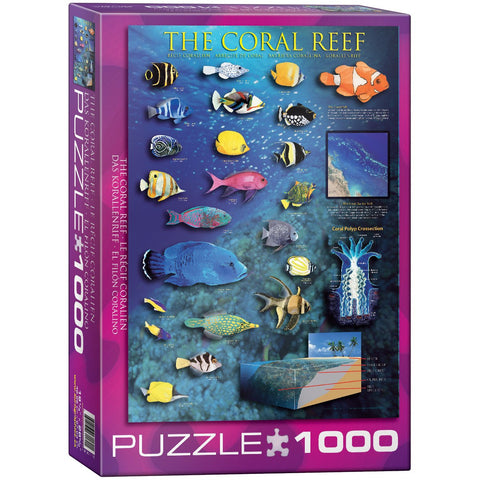 The Coral Reef - 1000 Piece Jigsaw Puzzle