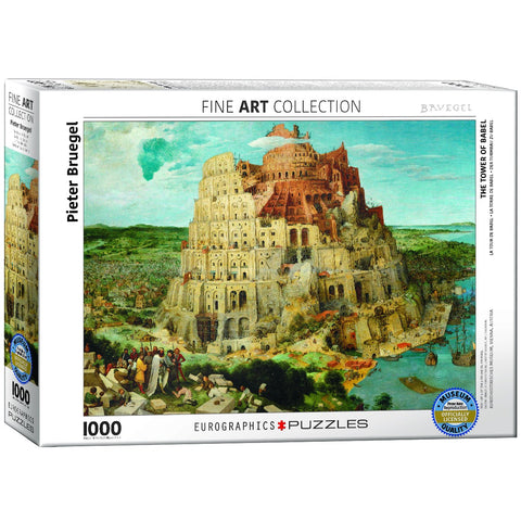 The Tower of Babel - 1000 Piece Jigsaw Puzzle