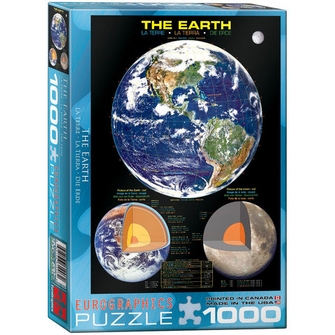 The Earth - 1000 Piece Jigsaw Puzzle
