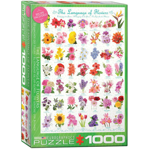 The Language of Flowers - 1000 Piece Jigsaw Puzzle
