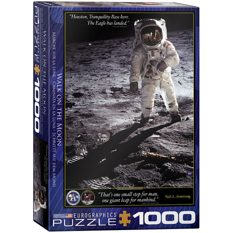Walk on the Moon - 1000 Piece Jigsaw Puzzle