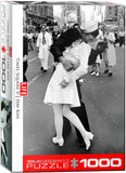Life - V-J Day Kiss in Times Square - 1000 Piece Jigsaw Puzzle