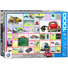 VW Beetle 1000 piece jigsaw puzzle