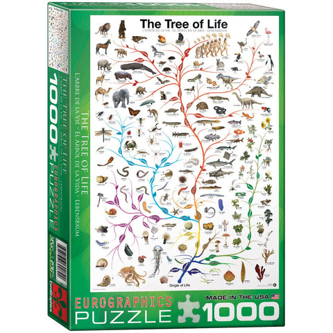 The Tree of Life - 1000 Piece Jigsaw Puzzle
