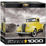 1937 Chevy Pickup - American Farmer - 1000 Piece Jigsaw Puzzle - Games2Puzzles