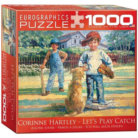 Let's Play Catch - 1000 Piece Jigsaw Puzzle