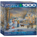 Snow Creations - 1000 Piece Jigsaw Puzzle