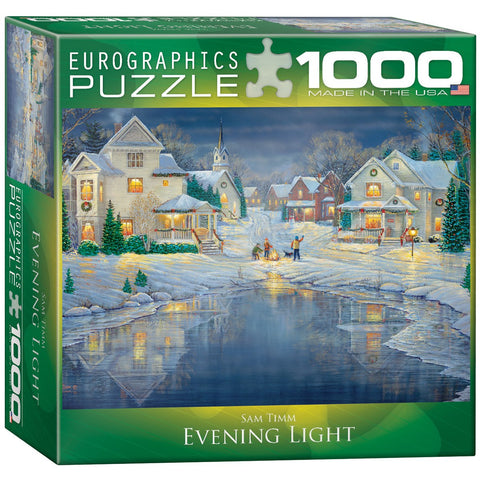 Evening Light - 1000 Piece Jigsaw Puzzle