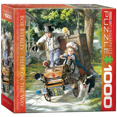 Help on the Way - 1000 Piece Jigsaw Puzzle