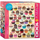 Chocolate Cupcakes - 1000 Piece Jigsaw Puzzle