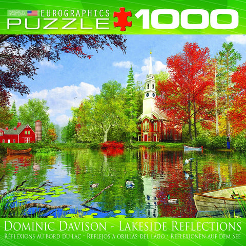Lakeside Reflections - 1000 Piece Jigsaw Puzzle