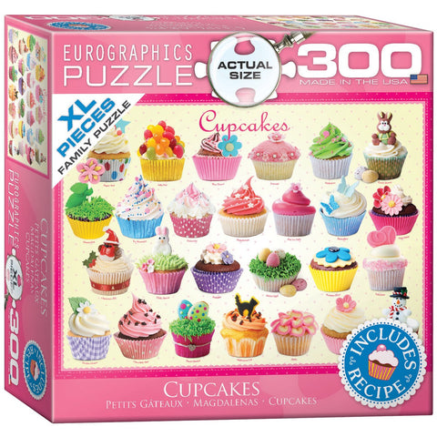 Cupcakes - 300 Piece Jigsaw Puzzle