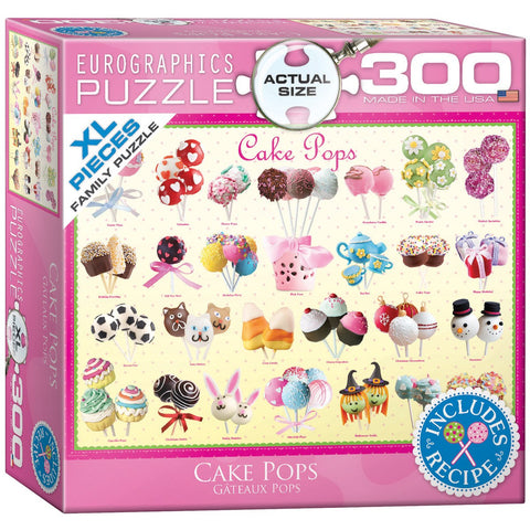 Cake Pops - 300 Piece Jigsaw Puzzle - Games2Puzzles