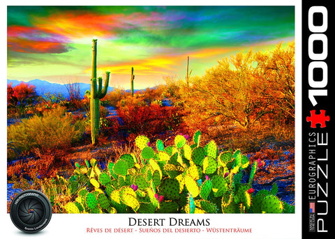 Desert Dreams - 1000 Piece Jigsaw Puzzle