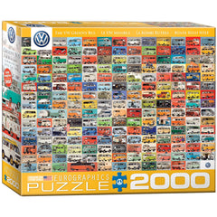 VW Bus Jigsaw Puzzle 2000 Pieces