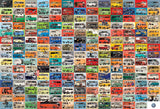 The VW Groovy Bus - 2000 Piece Jigsaw Puzzle