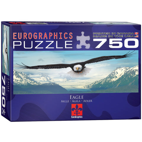 Eagle - 750 Piece Jigsaw Puzzle